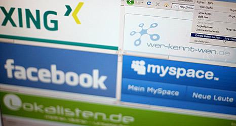 Logos der Netzwerke